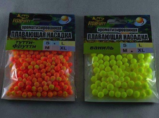 Ароматизированные шарики из пенопласта